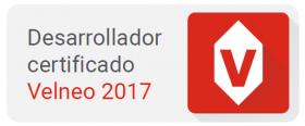 Desarrollador certificado Velneo